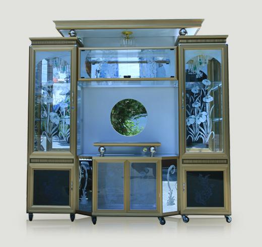 Tủ trưng bày nhôm kính 1
