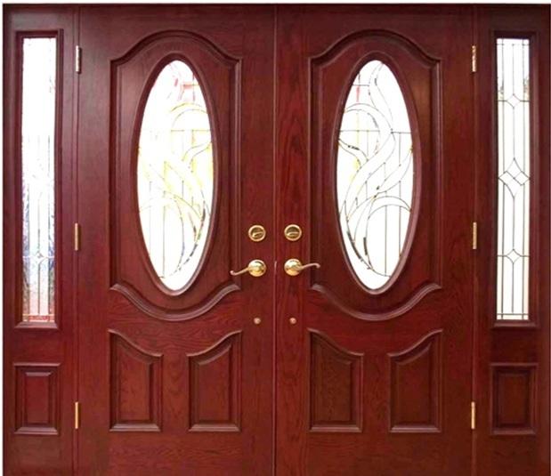 Cửa nhôm kính vân gỗ sang trọng đa dạng mẫu mã 1