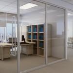 Lắp đặt vách ngăn nhôm kính văn phòng