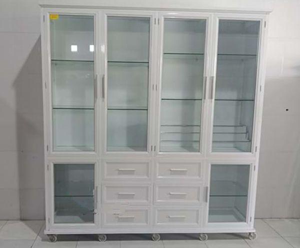 Một số mẫu tủ nhôm kính trưng bày 1