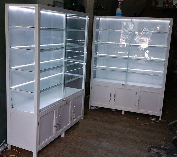 Một số mẫu tủ nhôm kính trưng bày 11