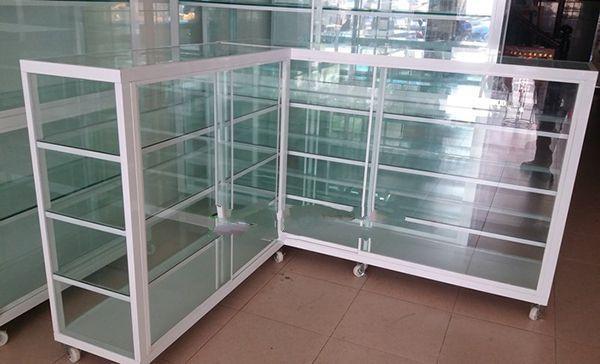 Một số mẫu tủ nhôm kính trưng bày 16