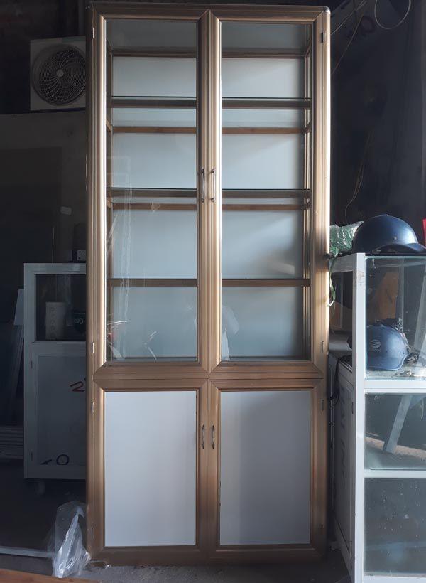 Một số mẫu tủ nhôm kính trưng bày 19