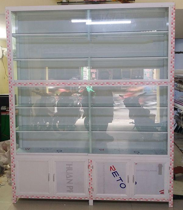 Một số mẫu tủ nhôm kính trưng bày 2