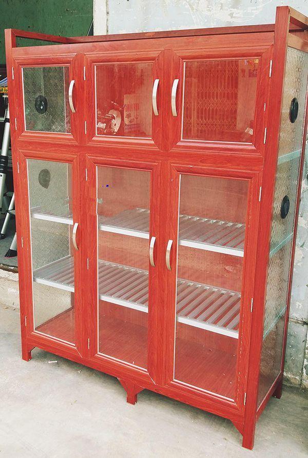 Một số mẫu tủ nhôm kính trưng bày 22