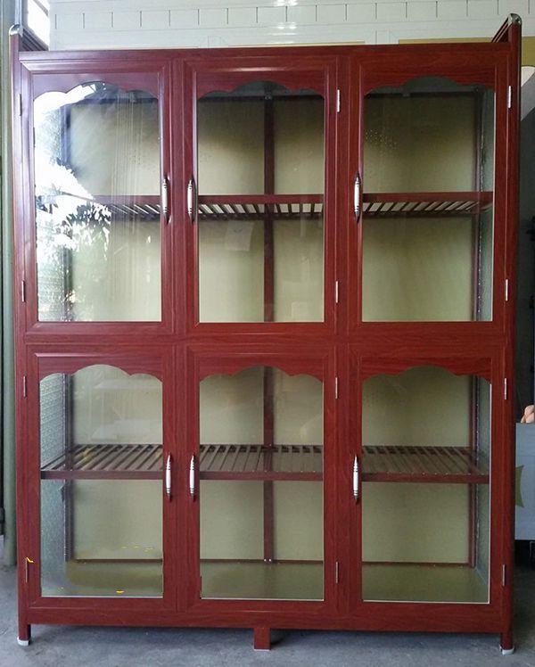 Một số mẫu tủ nhôm kính trưng bày 25