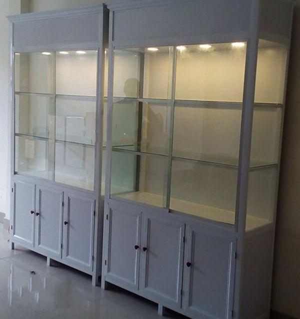 Một số mẫu tủ nhôm kính trưng bày 3