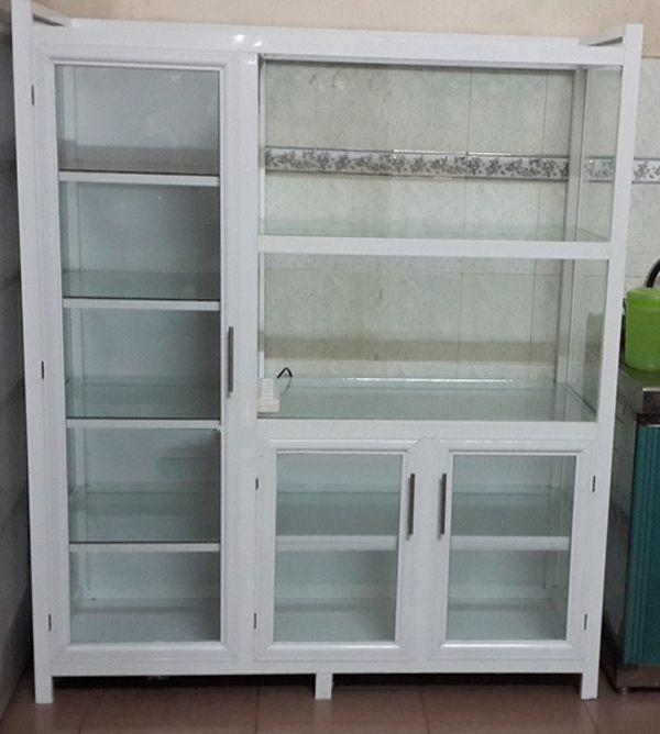 Một số mẫu tủ nhôm kính trưng bày 6