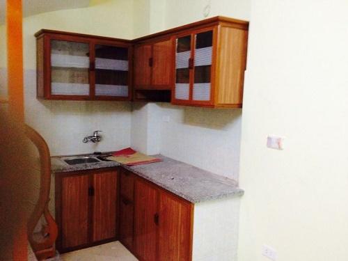 Hình ảnh mẫu tủ bếp nhôm kính 3