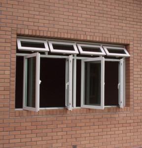 Cửa sổ mở quay 4 cánh – Cửa kính giá rẻ