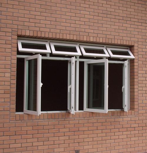 Vật liệu cấu thành cửa sổ mở quay 4 cánh 1