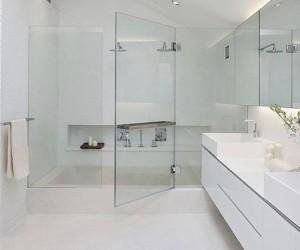 Cửa kính cường lực phòng tắm bền đẹp 1