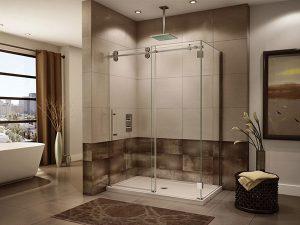 Vách kính nhà tắm: thông tin, báo giá và lưu ý sử dụng