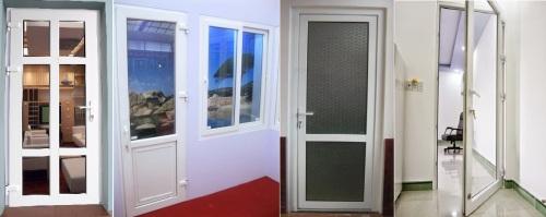 Kích thước chính của cửa đi thông phòng 1