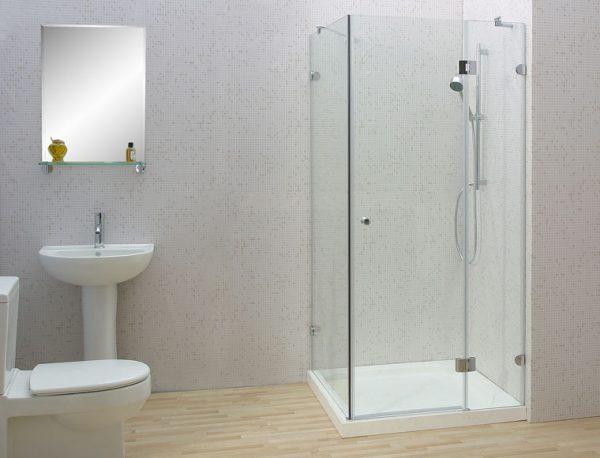 Vách kính phòng tắm 90 độ 1