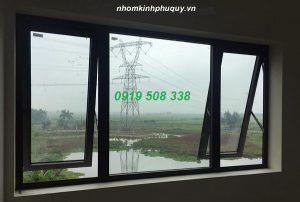 Mẫu cửa sổ mở hất nhôm PMA