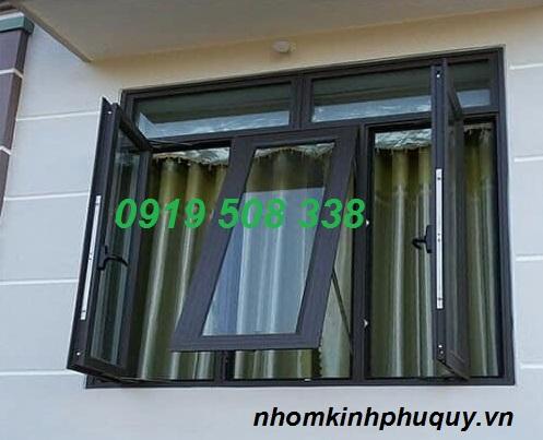 Một số mẫu cửa sổ mở hất nhôm PMA 2