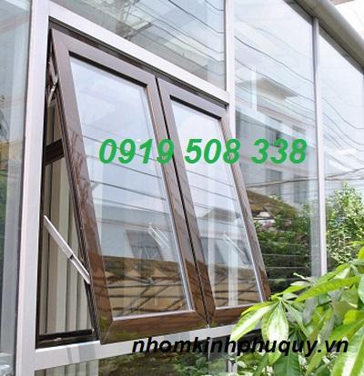 Một số mẫu cửa sổ mở hất nhôm PMA 4