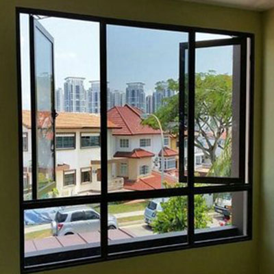 Ưu điểm của cửa sổ mở quay nhôm PMA 1