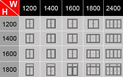 Thông số cấu tạo kỹ thuật cửa sổ lùa nhôm Xingfa 1