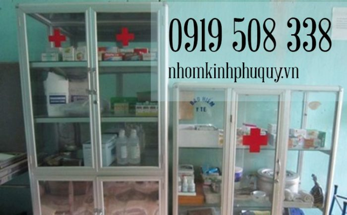 2. Tủ thuốc y tế trường học, công cộng 1