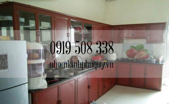 Tủ bếp nhôm kính là gì? 1