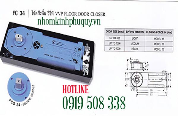 Bàn lề sàn VVP FC 34 1
