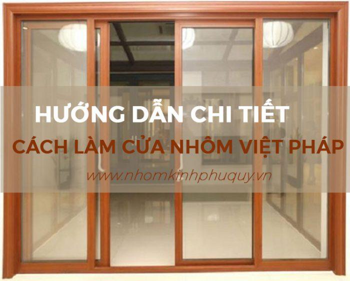 Chọn thanh nhôm Việt Pháp 1