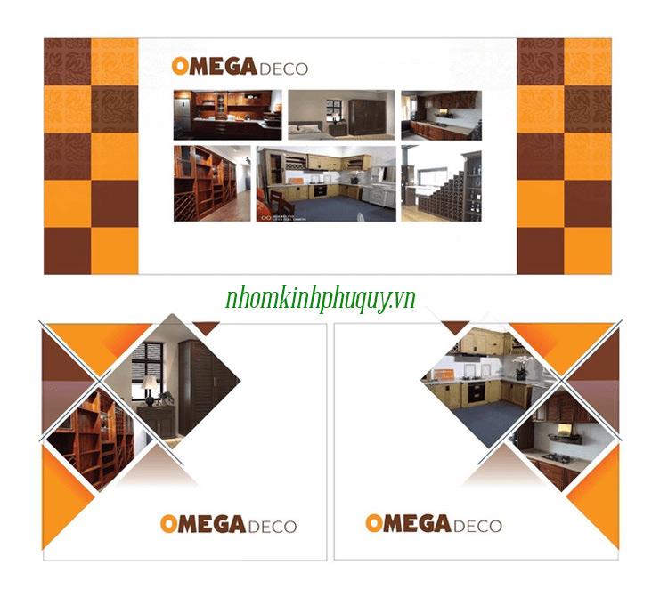 Hình ảnh thiết kế Catalog nhôm Omega 1