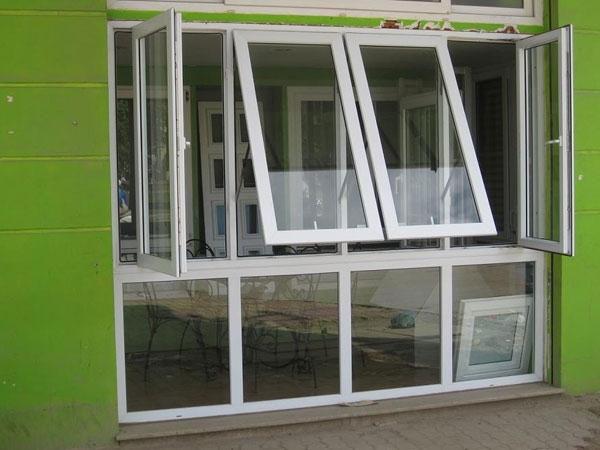 Cửa khung nhôm kính cao cấp Việt Pháp - Cửa sổ kết hợp vách kính