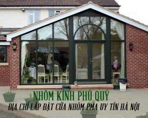 Lắp đặt cửa nhôm PMA chính hãng tại Hà Nội giá rẻ