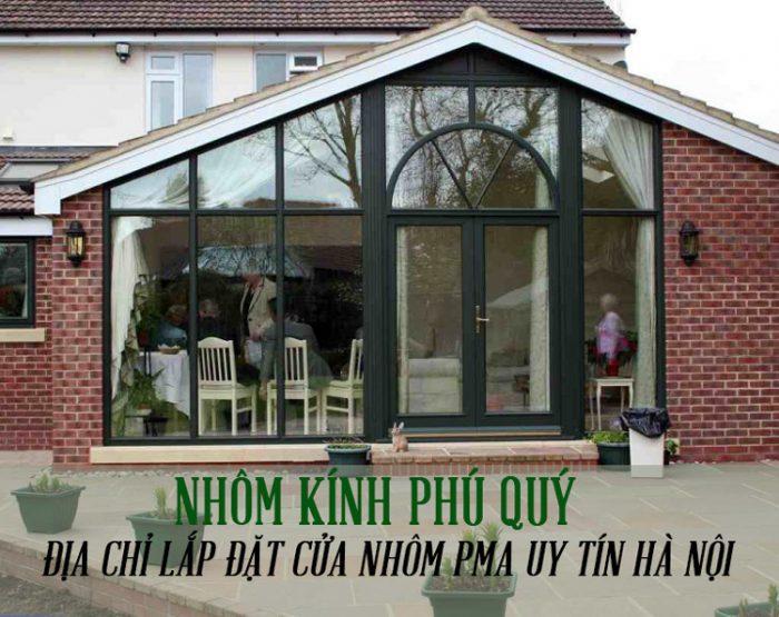 Lắp đặt cửa nhôm PMA chính hãng tại Hà Nội giá rẻ 1