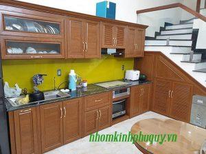 Tủ bếp nhôm Omega cao cấp – Xem ngay mẫu và giá!
