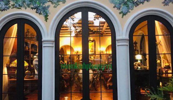 Cửa nhôm Xingfa uốn vòm mẫu cửa đẹp nhất!
