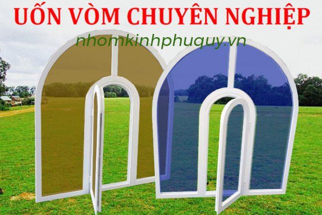 Cửa nhôm Xingfa mái uốn vòm mẫu cửa đẹp nhất! 1