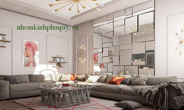 Gương ghép tường hình chữ nhật đẹp chất lượng ! 1