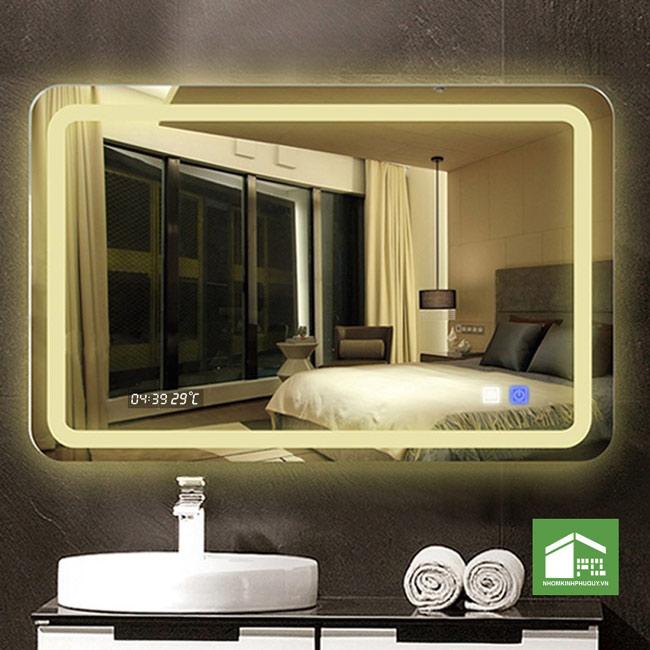 Ứng dụng Gương đèn led cảm ứng 2