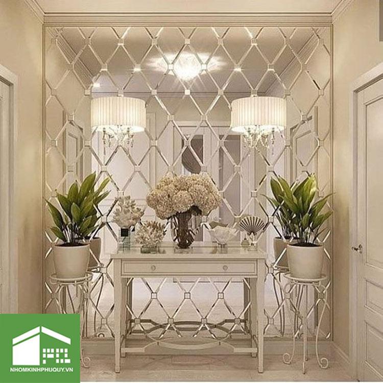 Lý do khiến gương ghép tường được ưa chuộng trong căn hộ! 1
