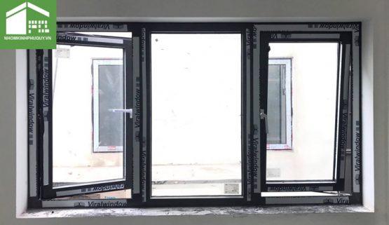 Cửa sổ mở quay lật nhôm Viralwindow