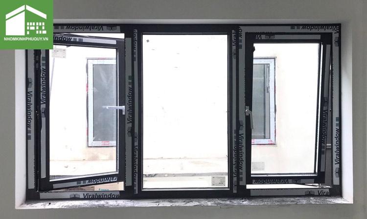 Địa chỉ lắp đặt cửa sổ mở quay Nhôm Viralwindow chính hãng! 3