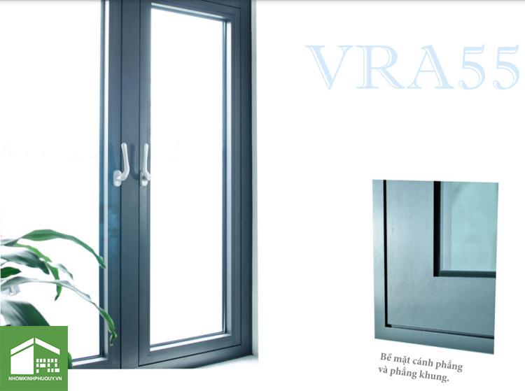 Cửa nhôm ViralWindow VRA55 1