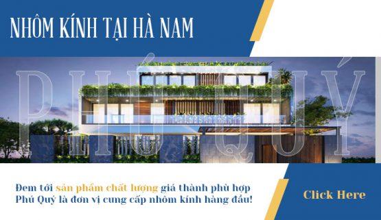 Báo giá thi công cửa nhôm kính tại Hà Nam chất lượng giá rẻ